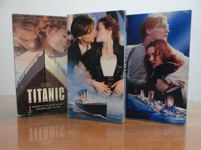 鐵達尼 Titanic(English) VHS video tape TITANIC movie VHS tape