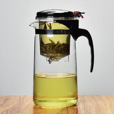 全館降價-耐熱玻璃飄逸杯茶壺玲瓏杯不繡鋼內膽過濾泡茶器茶道茶具套裝茶杯