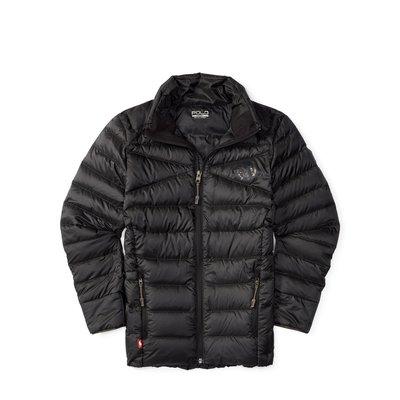 二手美國Ralph Lauren Polo SPORT系列 黑色保暖羽絨外套 大童L