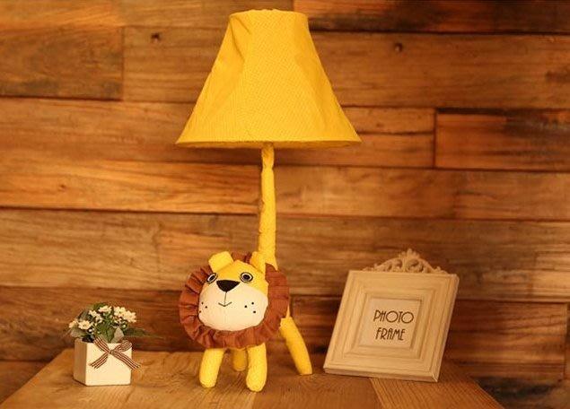 《特價$1150》獅子檯燈 萌萌獅檯燈 造型燈飾 居家 客廳 兒童房