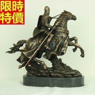 銅雕擺件 將軍武士騎士-古典藝術裝飾擺設雕塑工藝品66v39[獨家進口][巴黎精品]