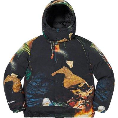 【紐約范特西】預購 SUPREME SS21 Firecracker Down Jacket 防風外套