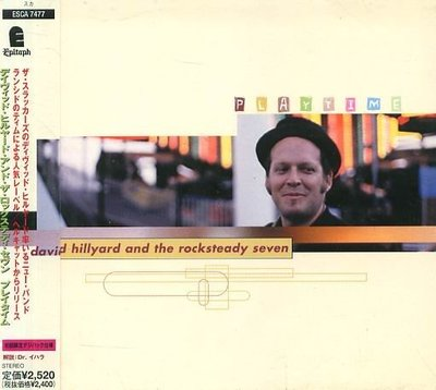K - DAVID HILLYARD And THE ROCKSTEADY SEVEN Playtime 日版 NEW