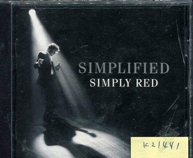 *真音樂* SIMPLIFIED / SIMPLY RED 二手 K21441