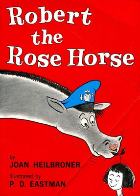 英文童書繪本 Robert the Rose Horse 《Beginner Books》原價260元 九成新