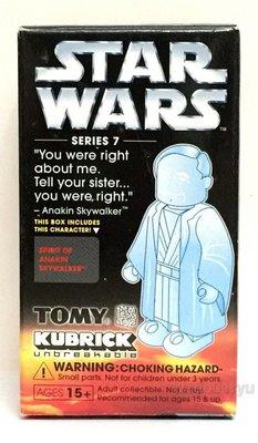 特價 全新Medicom 100% Kubrick Star Wars Series 7 Spirit of Anakin Skywalker 天行者