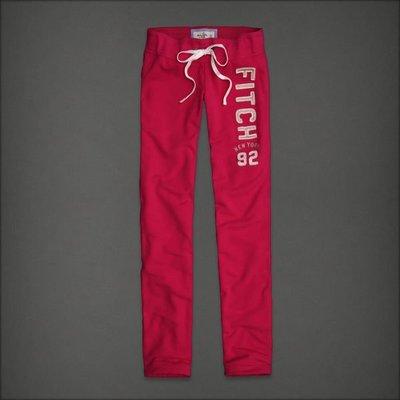 (BJGO) Abercrombie & Fitch_A&F_女裝_A&F Skinny Sweatpants 經典AF顯瘦直筒運動長褲 現貨XS