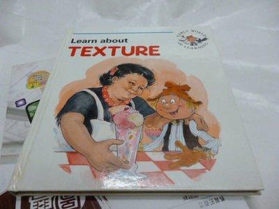 買滿500免運-『童書』Learn about TEXTURE (精裝本) EARLY WORLD OF LEARNING 1994