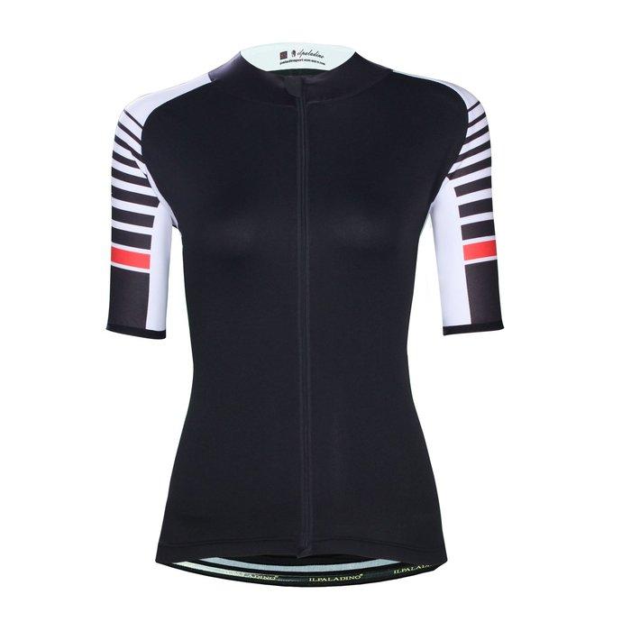 【ILPALADINO】競技型女士短袖車衣 :: 條紋