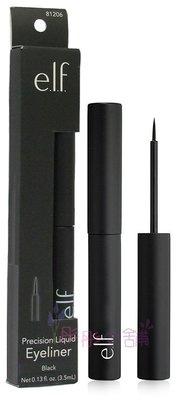 【彤彤小舖】e.l.f. Precision Liquid Eyeliner 細緻持久眼線液 3.5ml  #81206