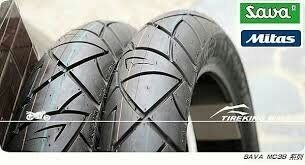 (輪胎王)歐洲MITAS米塔斯 前輪MC38 120/80-14+ 後輪MC38 140/70-14 晴雨兩用運動胎