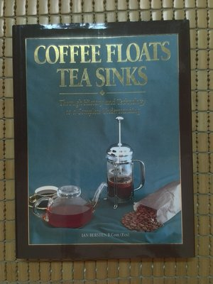 不二書店 coffee floats tea sinks 茶與咖啡 精裝本英文原文書 有書盒
