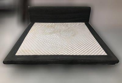 台北二手家具買賣 推薦 泰山宏品中古傢俱館 B010205* 加大床架* 二手中古 床頭箱 床頭片 床頭板 床箱
