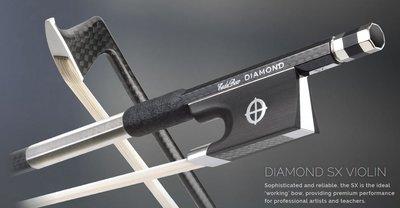 皇家樂器~全新美國Coda Bow Diamond SX Carbon Fiber 4/4 小提琴碳纖弓