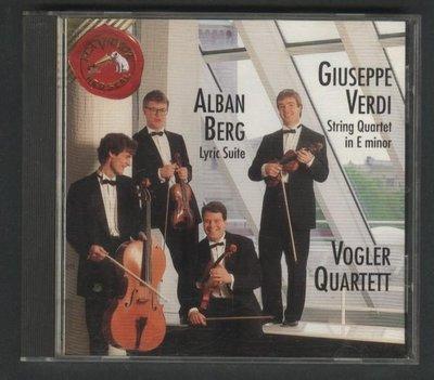 ///李仔糖CD唱片*1991年美國版.貝爾格弦樂四重奏:LYRIC SUITE二手CD