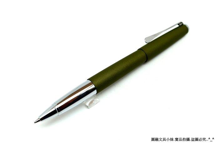 【圓融文具小妹】德國 LAMY STUDIO 366 鋼珠筆 橄欖綠 special edition #3400