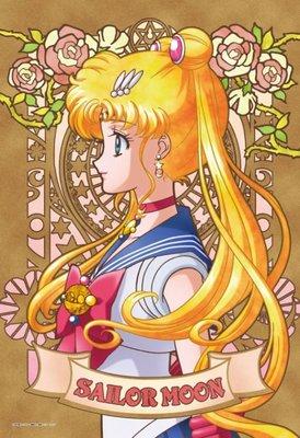日本進口拼圖 美少女戰士 月野兔 水手月亮 武內直子 300片絕版拼圖 300-963