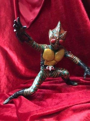 原裝日本正版古件新上色完成品幪面超人亞瑪遜amazon