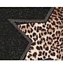 日韓服飾*免運費商品*豹紋高領上衣(黑色)*韓國連線**現貨*精緻剪裁款*原價500-特價388**3s潮流屋