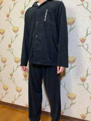 [MUJI無印良品]休閒輕柔棉睡衣 全新正品 L 編號:06873