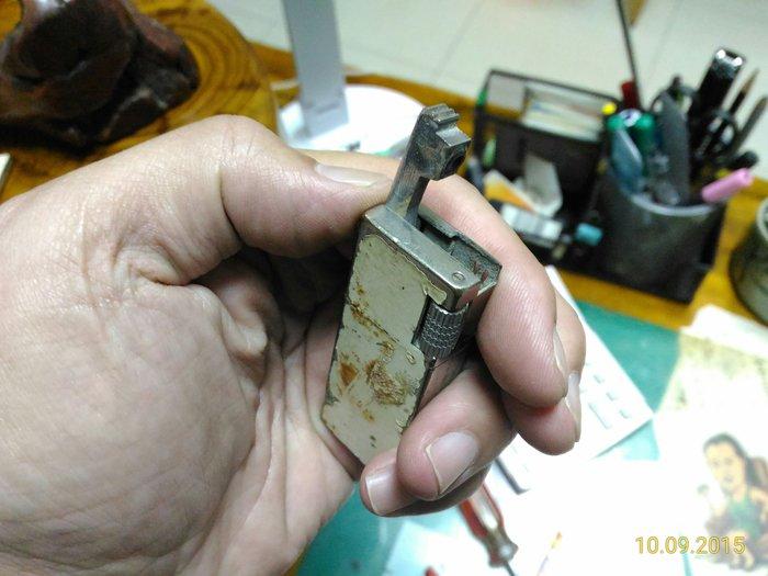 骨董.古董.收藏老爸的寶物.約50年歷史的打火機.