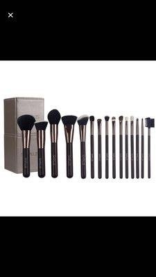 日本代購 日本品牌 Six Plus 限定版筒裝 15枝化妝掃套裝  有日本寄貨單據