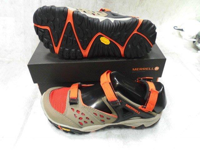 【n0900台灣健立最便宜】2018 MERRELL-輕量越野登山戶外女多功能涼鞋-(七折) J32828
