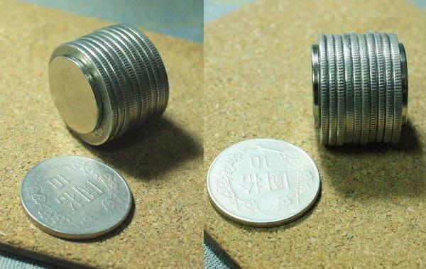 釹鐵硼強力磁鐵-圓形硬幣磁鐵20mmx2mm-超強吸力狠狠吸住你@萬磁王@