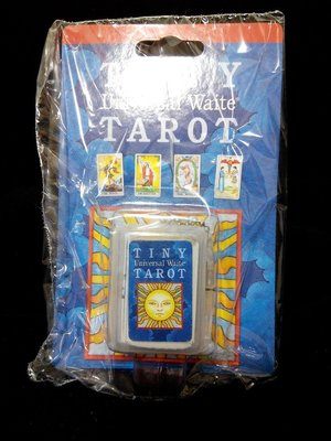 【馨閣塔羅】Tiny Tarot Key Chain 普及偉特鑰匙圈版 原裝進口