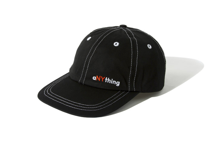 "[ LAB Taipei ] ANYTHING "" 6 PANEL LOW CONTRAST CAP "" (Black)"