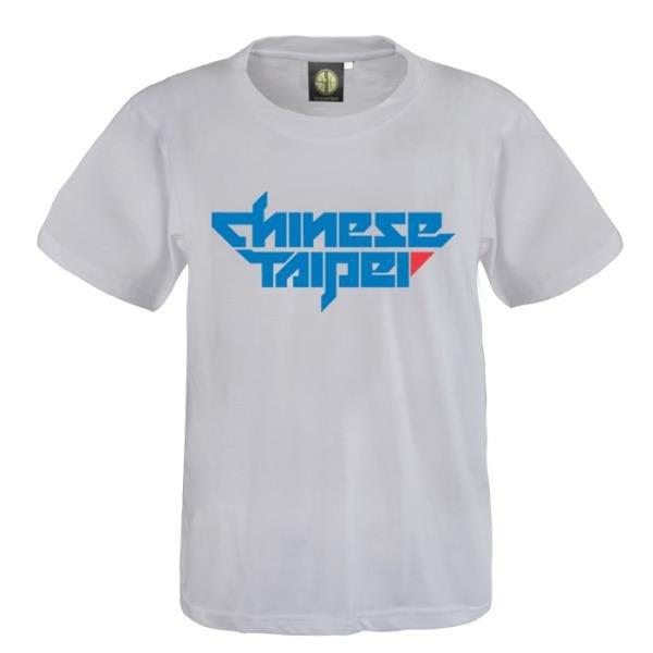 CHINESE TAIPEI SD籃球運動灌籃高手CHINESE TAIPEI TEE中華臺北純棉圓領短袖T恤