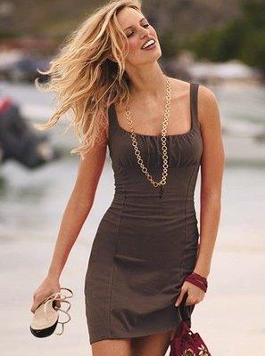 ☆°╮VS流行館╭°☆維多利亞的秘密Victorias Secret◎低胸性感洋裝禮服(現貨在台)