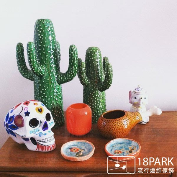 【18 Park 】趣味花藝 Cactus [ 仙人掌花瓶-大 ]