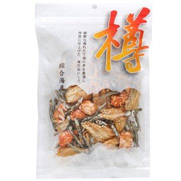 +東瀛go+日本樽 綜合海產 玉子蟹 螃蟹餅 小魚乾 110g 下酒零食 涮嘴零嘴 日本乾貨 零嘴