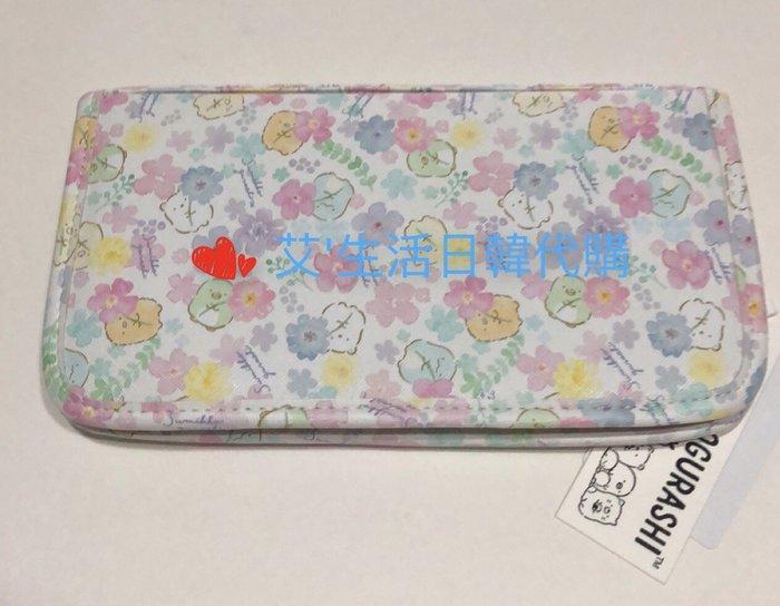 代購現貨  日本SAN-X角落生物 皮質拉鍊收納包 可手提 護照包