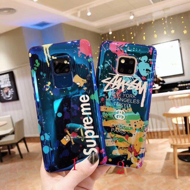 華為 mate10 mate20 P20 pro mate20X 手機殼 歐美潮牌 簡約字母 復古猿人 軟殼全包 保護套
