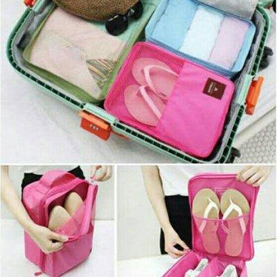 DINIWELL 韓版時尚戶外旅行防水收納鞋包【現貨】