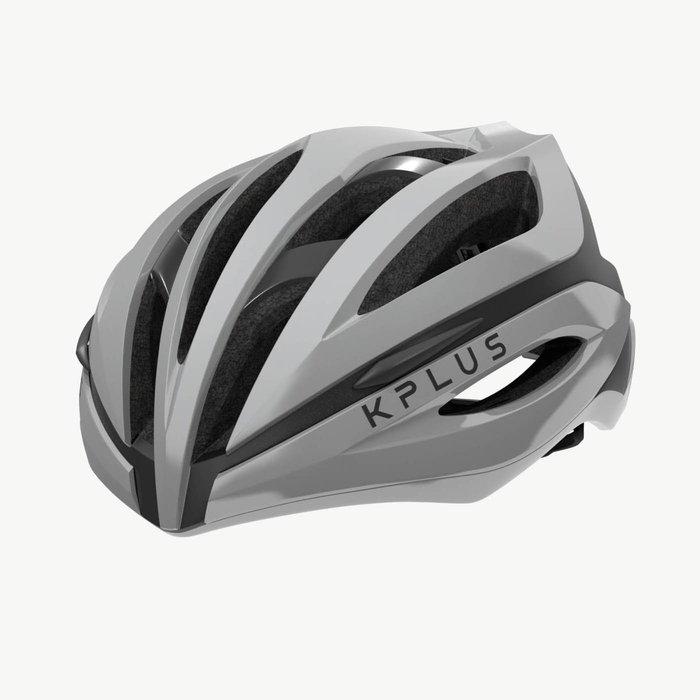 【三鐵共購】【KPLUS】SUREVO S系列一般色公路競速單車安全帽-灰