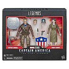 Marvel Legends 80 Years Captain America & Peggy Carter Exclusive