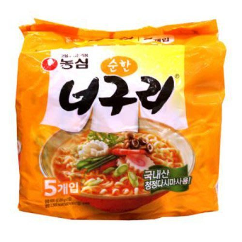 韓國農心浣熊麵韓國爽口海鮮昆布麵~可搭配韓國炸醬麵變身為韓劇爸爸你去哪兒了《浣熊炸醬面喲》