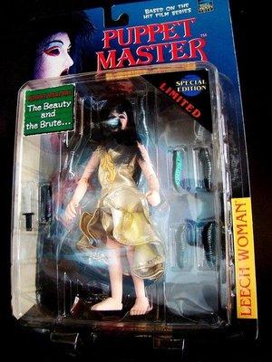1998 魔偶奇譚 PUPPET MASTER 水蛭夫人 LEECH WOMAN  黃衣 富貴玩具店
