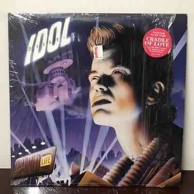 晨雨黑膠【西洋】美版/Billy Idol – Charmed Life (1990首版)