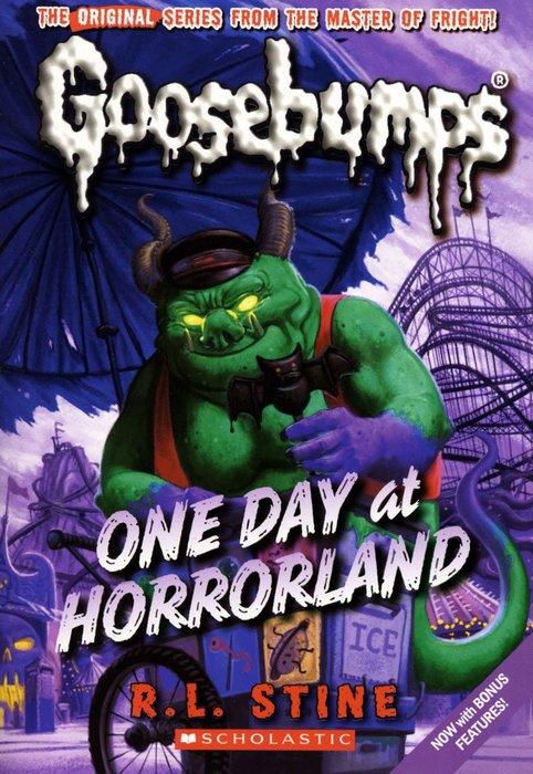 *小貝比的家*GOOSEBUMPS#5:ONE DAY AT HORRORLAND/平裝/7~12歲/小說