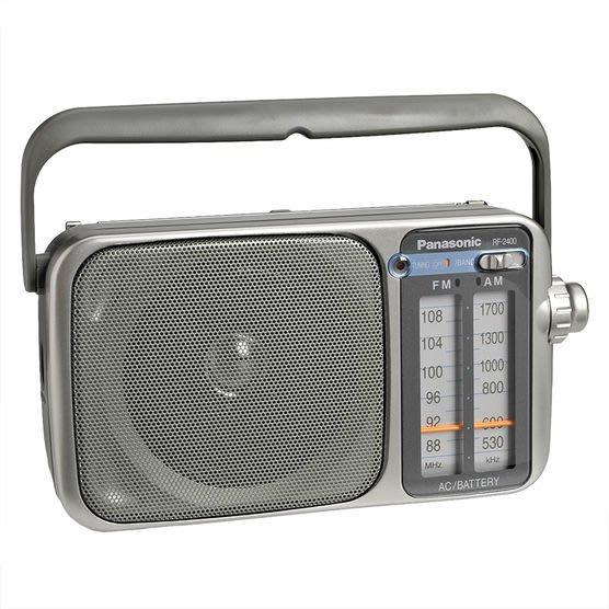 ☎【立光空調】Panasonic國際牌 復古FM/AM 隨身聽 RF-2400D-S RF-2400-S RF2400