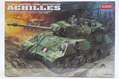【統一模型】ACADEMY《英國 自走砲驅逐坦克 TANK DESTROYER- ACHILES》1:35 # 1392