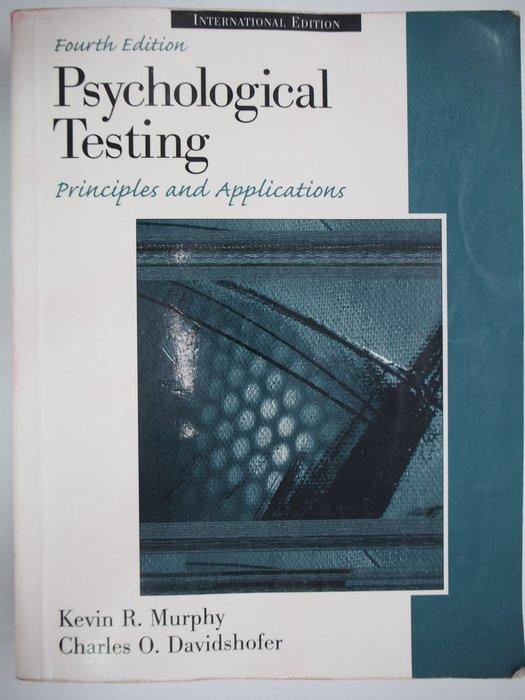 【月界二手書店】Psychological Testing(絕版)_Kevin R. Murphy 〖心理〗AJA