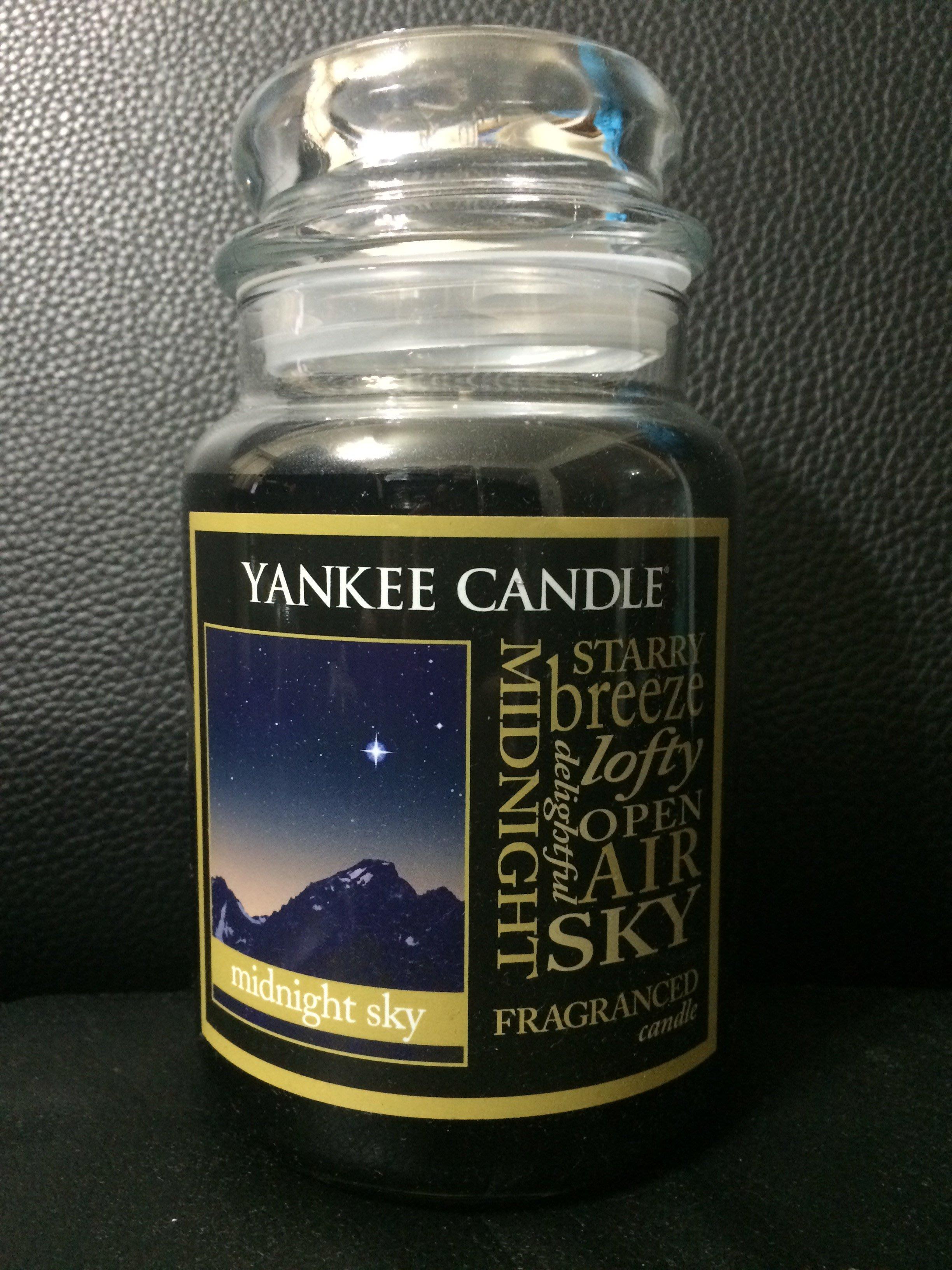 【西寧鹿】YANKEE CANDLE 22OZ MIDNIGHT SKY 絕對真貨 可面交 YCE042