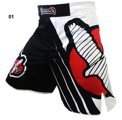 MMA短褲UFC自由搏擊格鬥泰拳訓練褲拳擊健身房專業武術比賽散打服-2316
