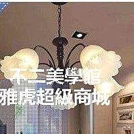 歐式5頭鐵藝吊燈 簡約客廳臥室燈飾 美式餐廳燈具Lc_771