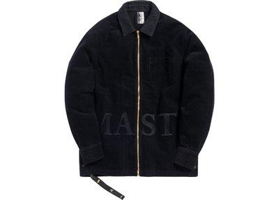 【美國鞋校】預購 Kith x mastermind WORLD Ginza Cord Black 夾克